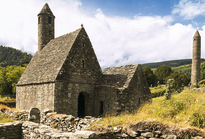 An ancient Irish monastery