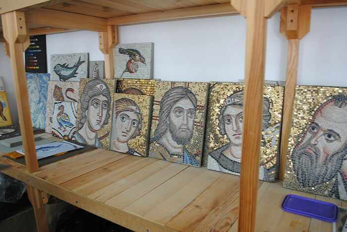 Мозаичные работы семинаристов
