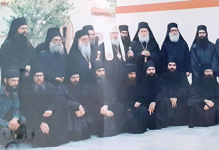 Η επίσκεψη του Αγιωτάτου Πατριάρχη κ.κ.Αλέξιου Β' στην Ιερά Μονή Παρακλήτου, 22 Ιουνίου του 1992