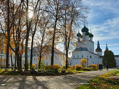 Μια φθινοπωρινή βόλτα στο Κρεμλίνο του Ροστόφ