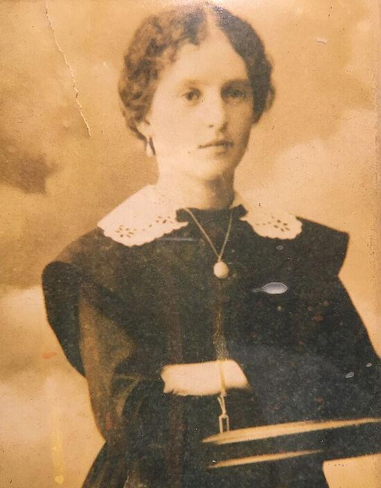 Моя бабушка Варвара Дмитриевна Малинникова, урождённая Мартьянова