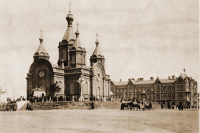 Успенский собор Хабаровска