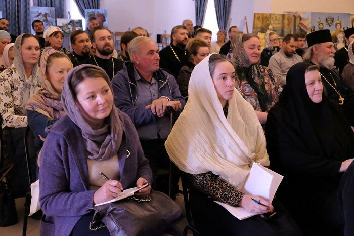Участники семинара в Гатчинской епархии