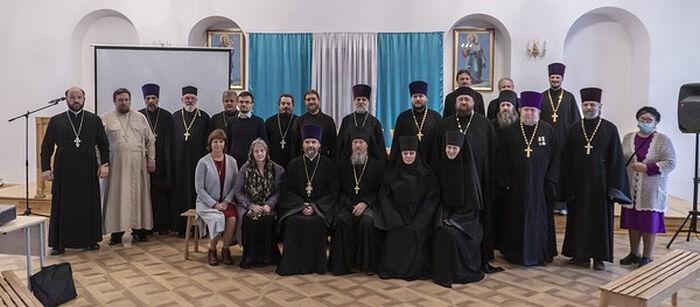 Участники семинара в Боровичской епархии