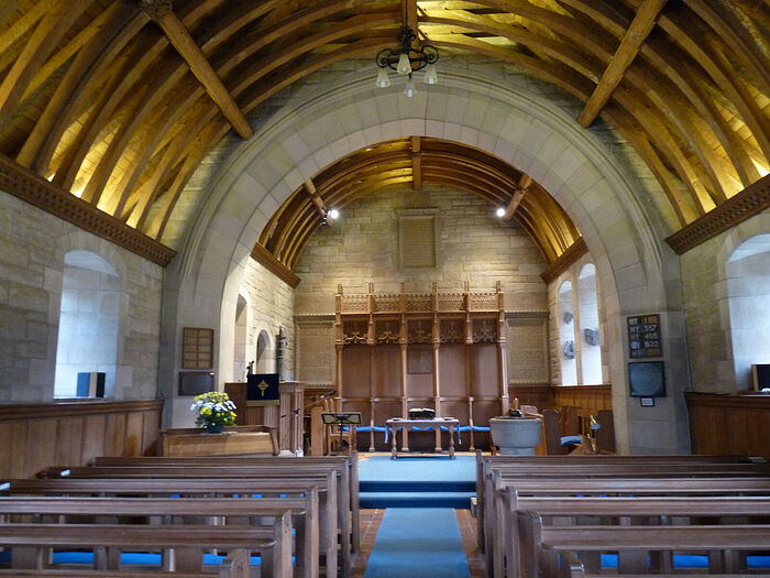 Внутри церкви д. Фортингалл, Перт-энд-Кинросс (любезно предоставил - Gordon Stark of Tay and Lyon Churches)