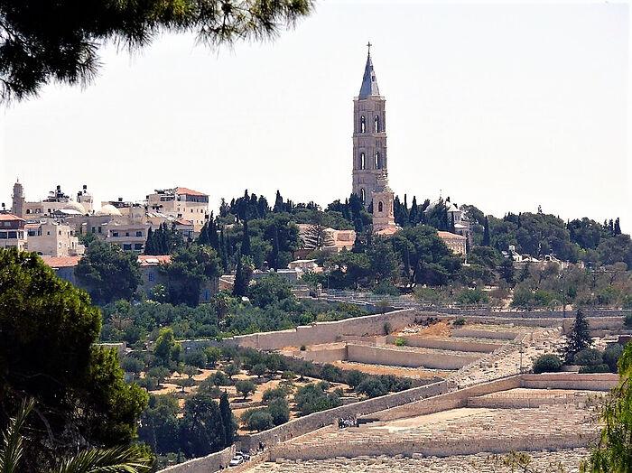 Спасо-Вознесенском монастыре на Елеоне