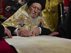 «Томосология» Константинопольского Патриархата