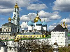 В день памяти преподобного Сергия Радонежского Святейший Патриарх Кирилл направил послание настоятелю и братии Троице-Сергиевой лавры