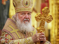 Patriarch Kirill under quarantine after contact with COVID-infected person