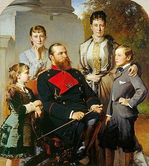 Семья великого герцога Людвига IV