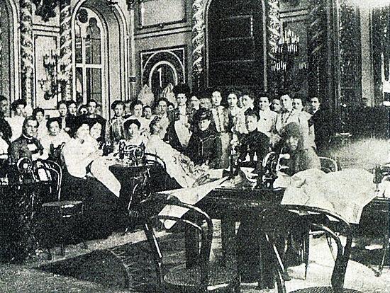 1904. Мастерская в Кремле