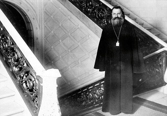 Архиепископ Иоанн (Поммер) в Латвийском сейме