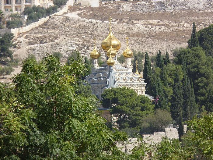 Церковь равноапостольной Марии Магдалины в Гефсиманском саду