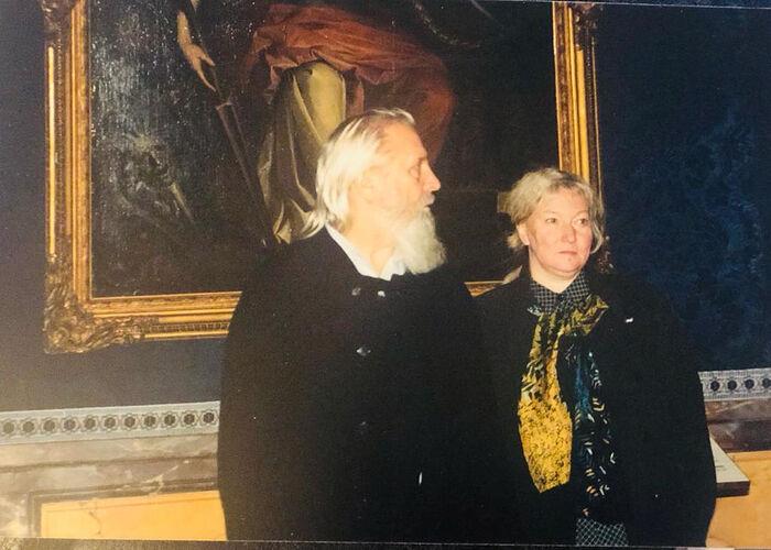Протоиерей Георгий Бреев с матушкой Наталией