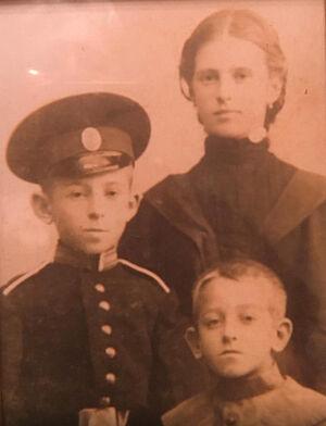 Варвара, Николай и Александр Мартьяновы