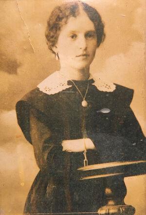 Моя бабушка, Варвара Дмитриевна Мартьянова