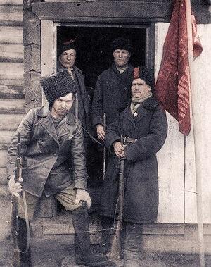 Революционные солдаты