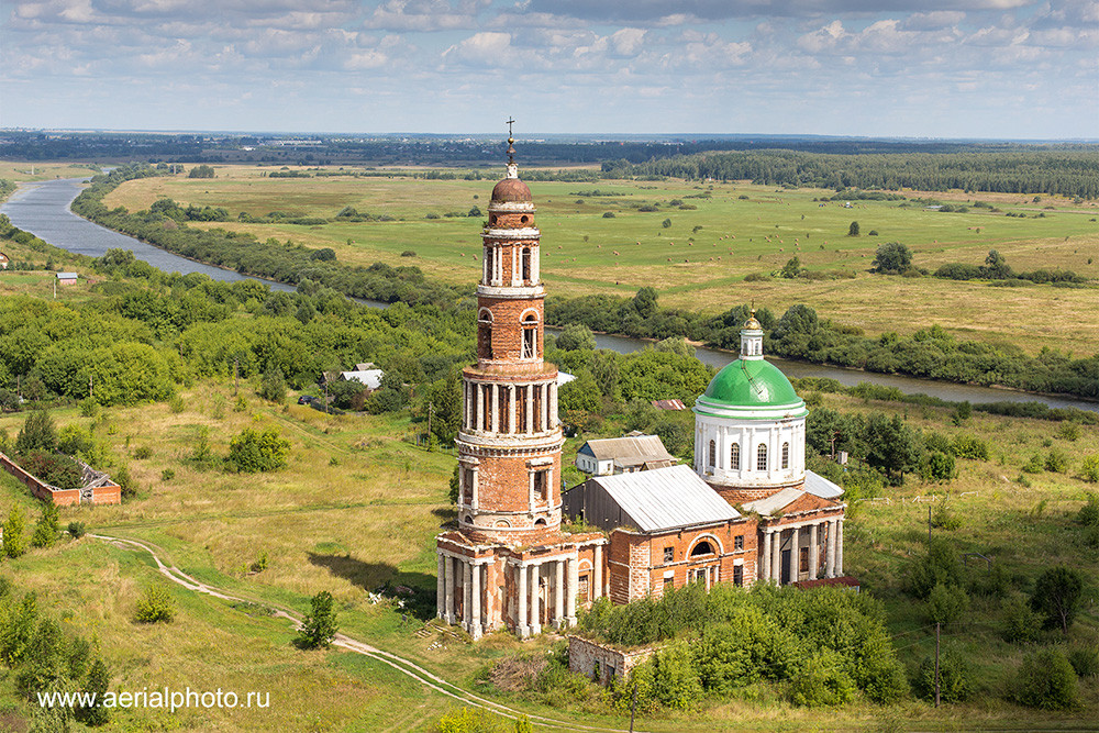 Church of the Nativity of the Most Holy Theotokos. Perevles, Ryazan Province