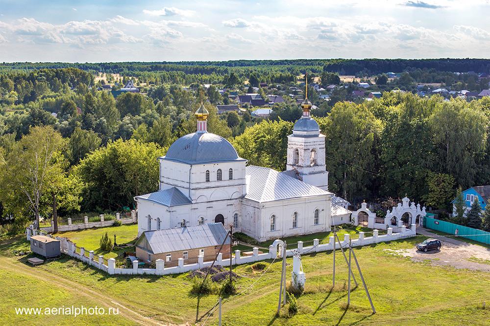 Храм Воскресения Словущего. Сушки, Рязанская область