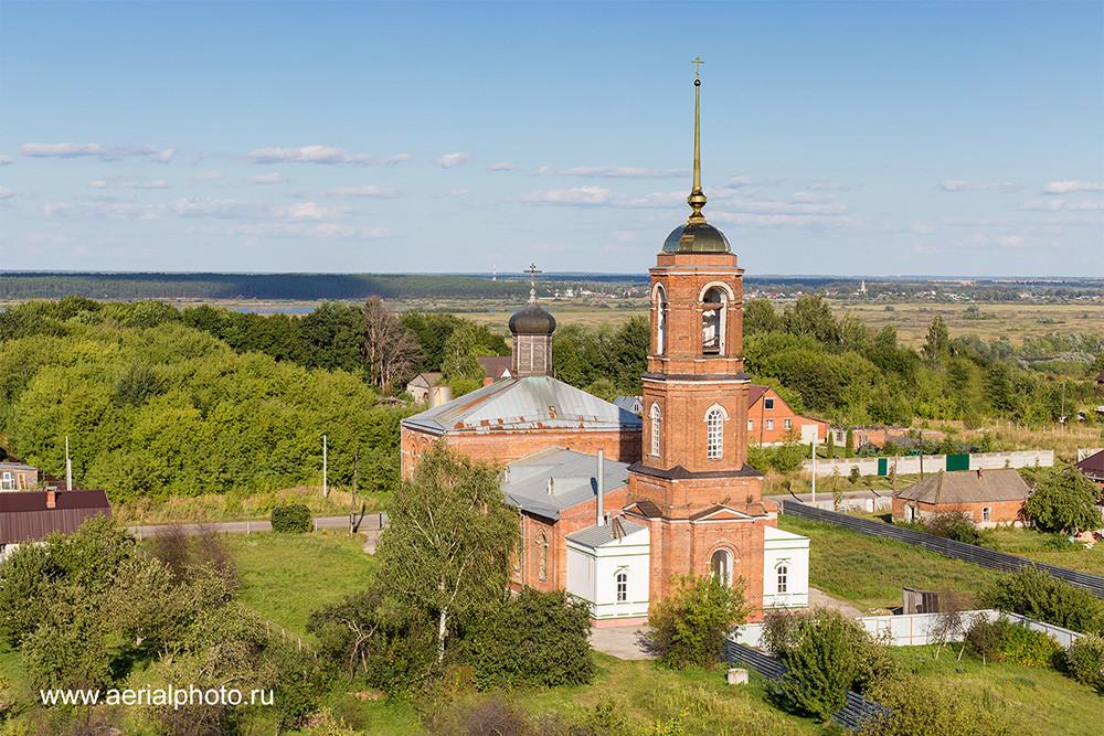 Церковь Казанской иконы Божией Матери. Половское, Рязанская область