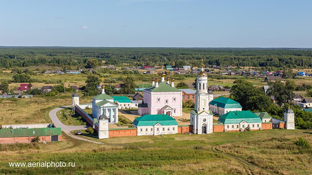 Никольский Чернеев монастырь. Старочернеево, Рязанская область