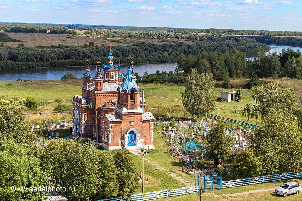 Церковь Иверской иконы Божией Матери. Муратово, Рязанская область