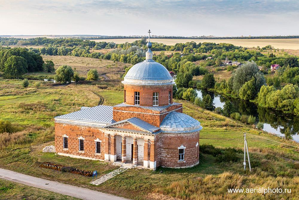 Церковь Николая Чудотворца. Орловка, Тульская область