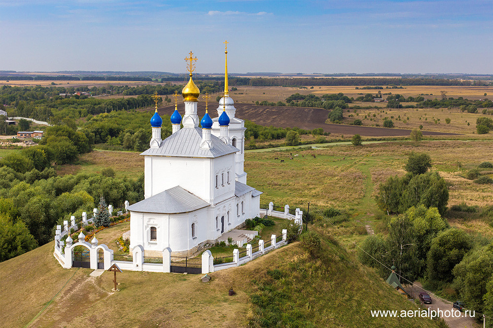 Church of the Dormition of the Most Holy Theotokos. Epiphan, Tula Province