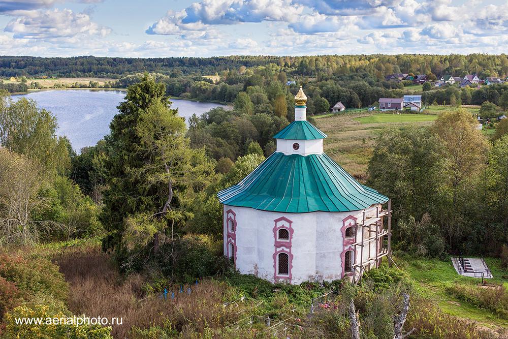 Церковь Богоявления Господня. Гальяново. Погост Псовец, Тверская область