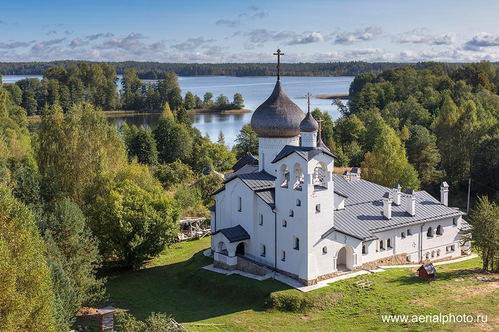 Church of the Life-Giving Trinity. Zhuki, Pskov Province