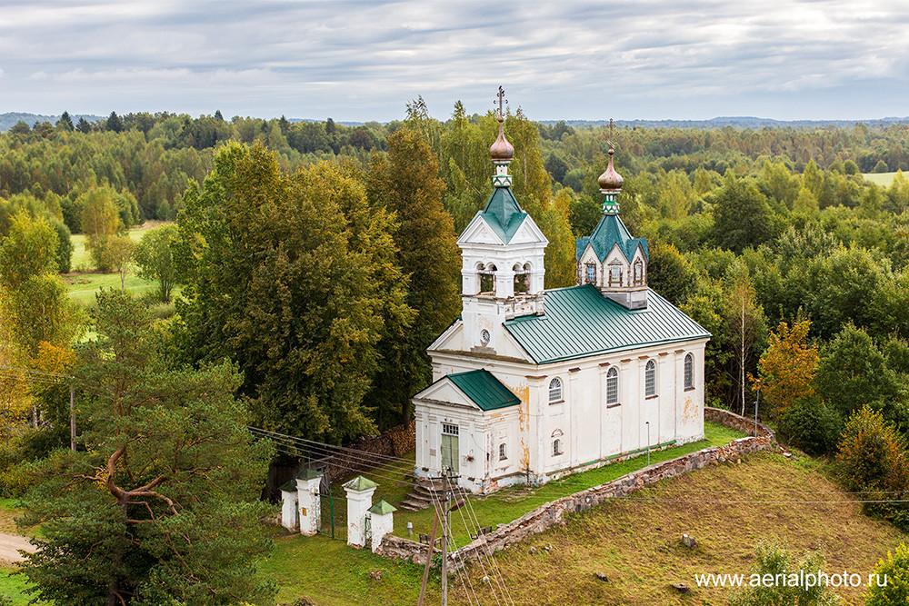 Храм Николая Чудотворца. Зародищи, Псковская область