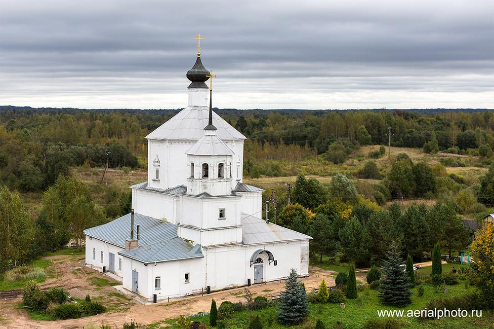 Церковь Воскресения Господня. Клин, Псковская область
