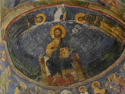 Οι τοιχογραφίες του Καθεδρικού Ναού Μεταμορφώσεως του Σωτήρος της Ιεράς Μονής Μιρόζκα του Πσκόφ