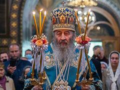 Theotokos joyfully prays for those who keep commandments, sorrowfully for those who break them—Met. Onuphry