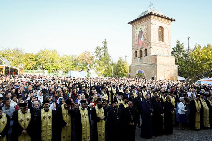 From last year's St. Demetrius the New pilgrimage in Bucharest. Photo: basilica.ro