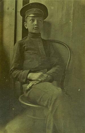 Дядя матушки Елены Анатолий в Добровольческой армии