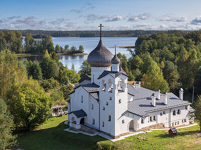 Churches from Five Russian Provinces from a Bird's Eye View