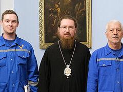 Епископ Звенигородский Феодорит поблагодарил врачей за оказанную помощь в лечении студентов Московской духовной академии