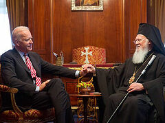 """Joe Biden unwaveringly supports Constantinople as """"center of the Greek Orthodox Church,"""" says campaign statement"""