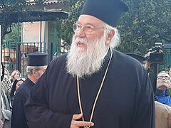 Trial of Greek Metropolitan of Corfu who communed faithful during quarantine opens today