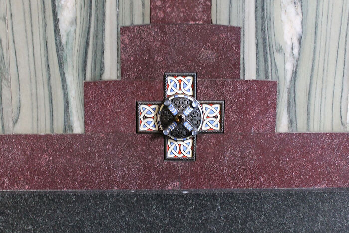Мощи св. ап. Андрея в Вестминстерском соборе Лондона (фото предоставлено собором)