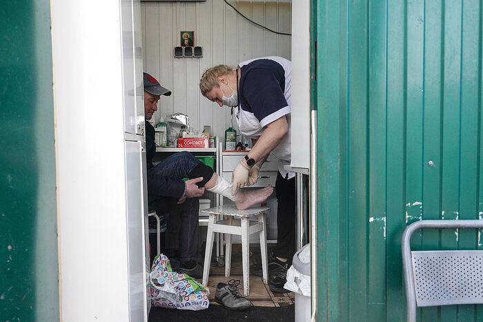 Бездомным нужна помощь: увеличилось число обращений. Информационная сводка от 20 октября 2020 года
