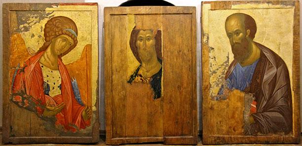 «Звенигородский чин» преподобного Андрея Рублева, найденный отцом Димитрием Крыловым