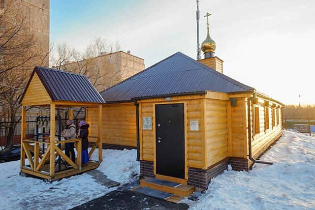 Храм священномученика Василия Смирнова в Конькове, Москва