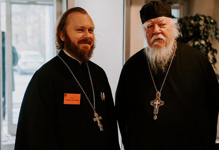 Fr. Theodore Lukianov and Archpriest Dmitry Smirnov