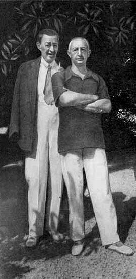Иван Бунин и Сергей Рахманинов