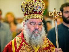 Cypriot Metropolitan Athanasios of Limassol left Liturgy in protest over commemoration of Ukrainian schismatic