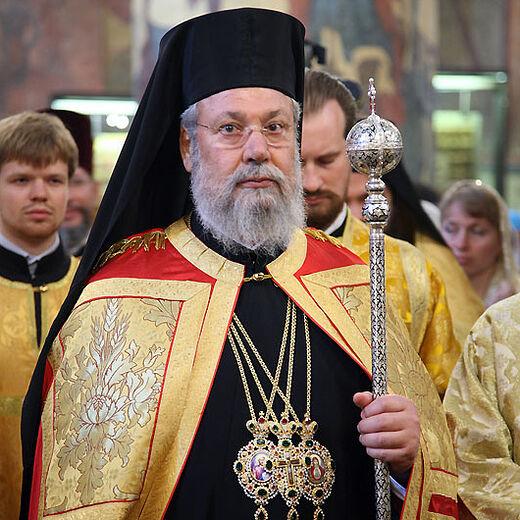Самочинное и неожиданное действие архиепископа Кипрского