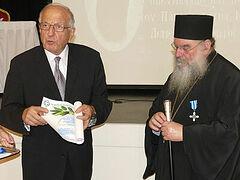 Cypriot association honors Metropolitan Athanasios of Limassol