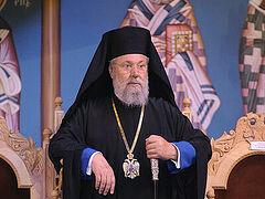 Архиепископ Кипрский Хризостом: Позиция Русской Церкви по украинской автокефалии справедлива и во всем оправдана